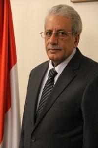 سفير الجمهوريه اليمنيه لدى جمهوريه المانيا الاتحاديه